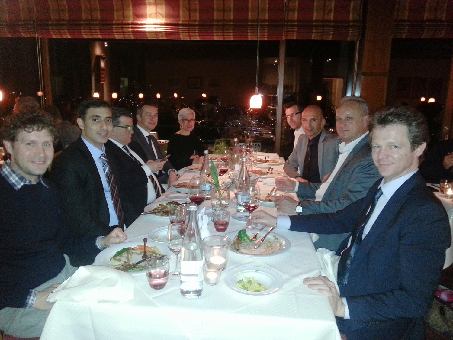 N-Jewellery-Techniques-Director-Mehernosh-Printer-at-dinner-hosted-by-SISMA-at-Basel-Exhibition-Switzerland-March-2015